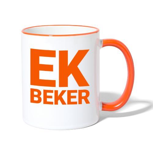 EK BEKER - EK 2021 BEKER - Mok tweekleurig