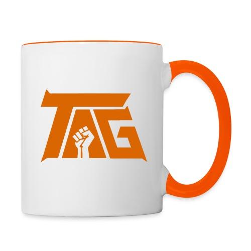 Two Angry Gamers TV Logo - Contrasting Mug