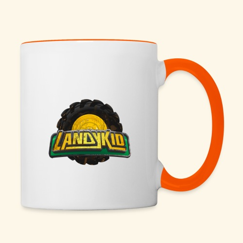 LandyKid Logo XL trans png - Contrasting Mug