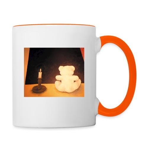 Der Bär und die Unendlichkeit - Tasse - Tasse zweifarbig