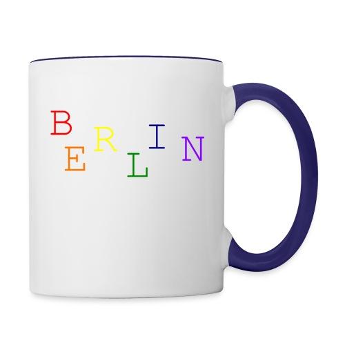 Berlin Rainbow #1 - Tasse zweifarbig