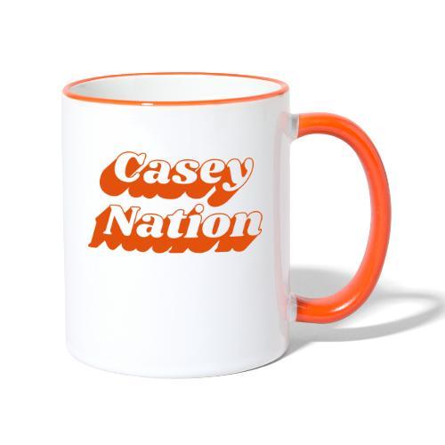 CaseyNation - Tvåfärgad mugg
