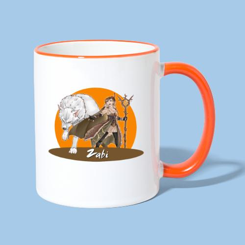 Zabi - Guardian of Nature - Contrasting Mug