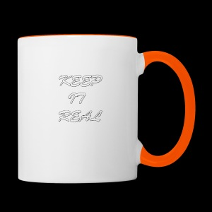 Keep it real - Contrasting Mug