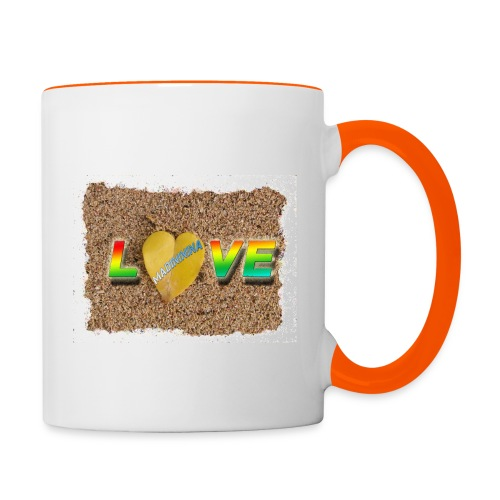 love,madinina - Mug contrasté