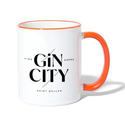 Gin City 2 - Tasse zweifarbig