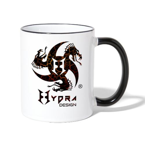 Hydra Design - logo Cracked lava - Tazze bicolor