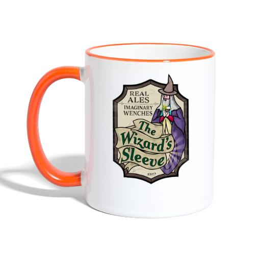 Wizard's Sleeve Pub Sign - Contrasting Mug