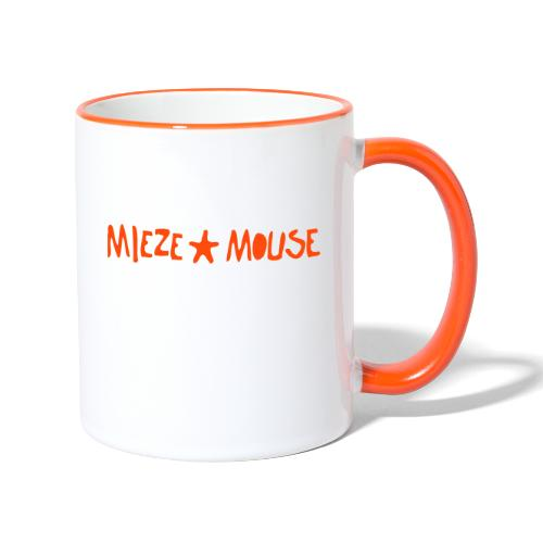 MIEZEMOUSE STAR - Tasse zweifarbig