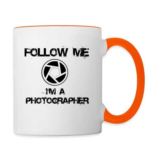 Follow Me - Tasse zweifarbig