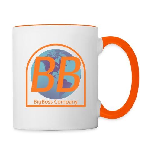 logo BigBoss Company - Mug contrasté