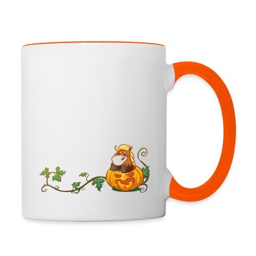 Pumpkin Pony - Tasse zweifarbig