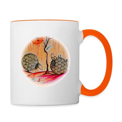 Sillousoune-mug-2moutons - Mug contrasté