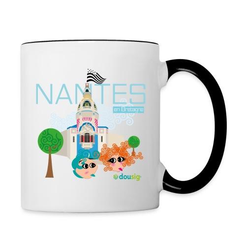 Dousig Nantes en Bretagne - Mug contrasté