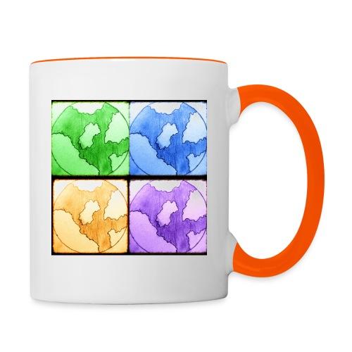 Worlds - Tofarvet krus