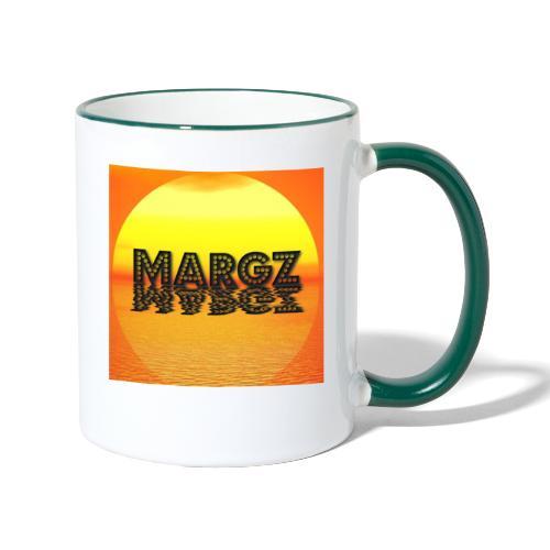 Sunset over Margz - Contrasting Mug