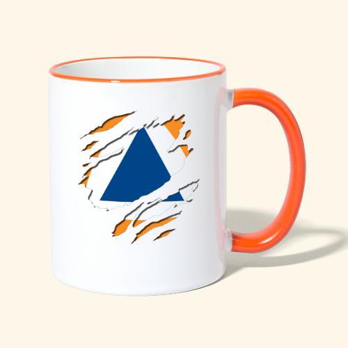 protection civile - Mug contrasté