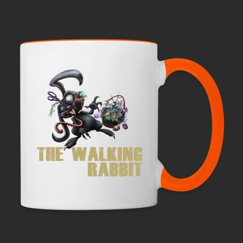 thewalkingrabbit - Tasse zweifarbig