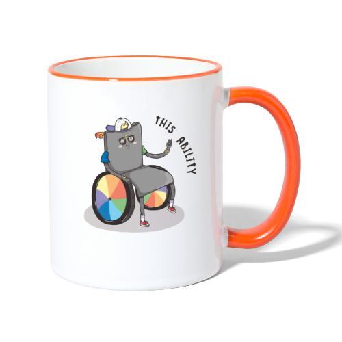 THIS ABILITY - Contrasting Mug