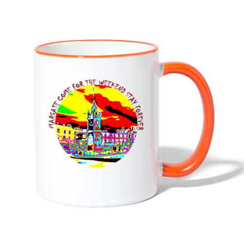 Come for the weekend! - Contrasting Mug