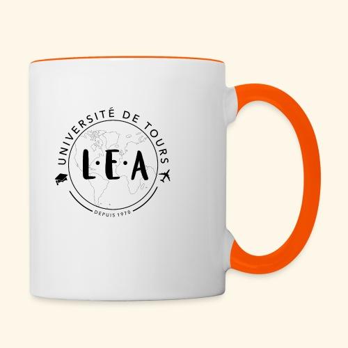 L.E.A Noir - Mug contrasté