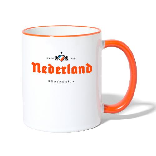 Nederland beerlabel - Mug contrasté