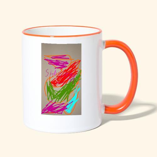 Shivams Kreation 1 - Tasse zweifarbig