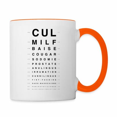 Optics - Mug contrasté