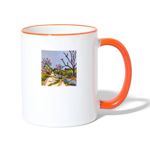 Thurlton Marsh Track - Contrasting Mug