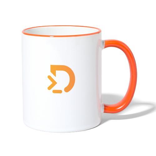 DFTAI D - Tasse zweifarbig