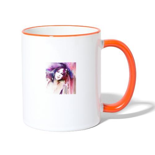 Alice - Tasse zweifarbig