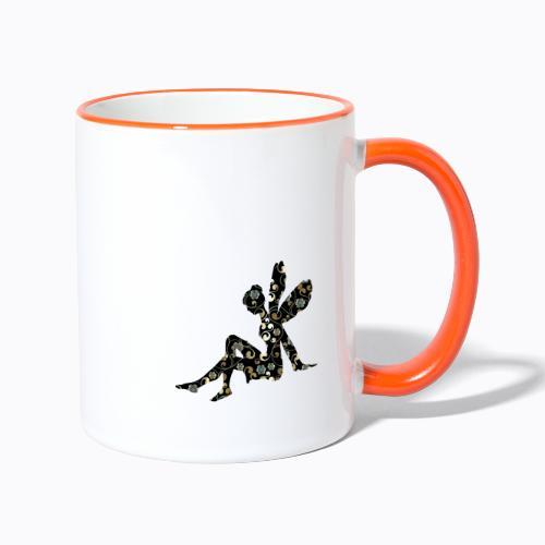 fairy abstract - Contrasting Mug