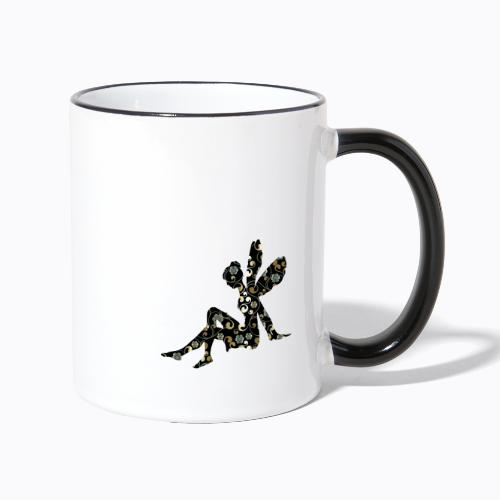 fairy abstract - Contrasting Mug
