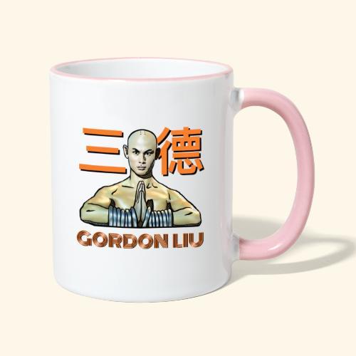 Gordon Liu - San Te Monk (Official) 6 dots - Mok tweekleurig