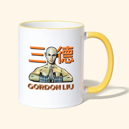 Gordon Liu - San Te Monk (Official) 6 dots - Mok tweekleurig