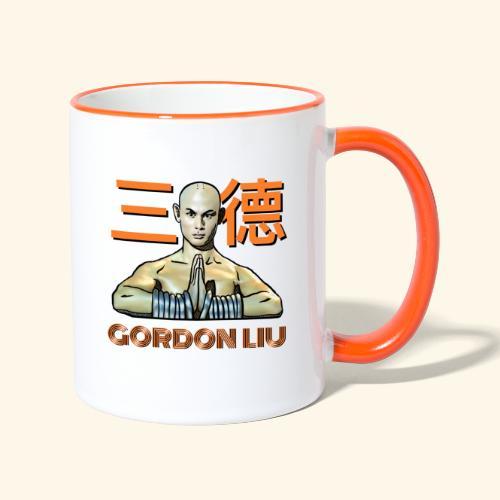 Gordon Liu - San Te Monk (Official) 6 prikker - Tofarvet krus