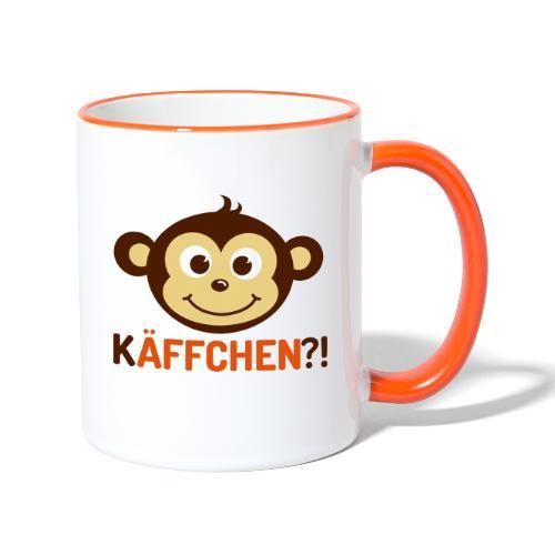 Monkey Käffchen 3 - Tasse zweifarbig