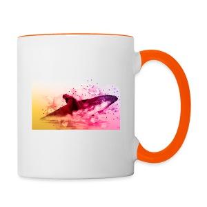 LowpolyWhale - Mug contrasté