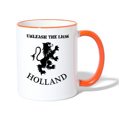 HOLLAND Unleash the LION - Mok tweekleurig