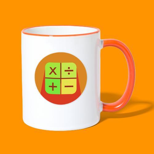 Matemáticas Sin Más - Taza en dos colores