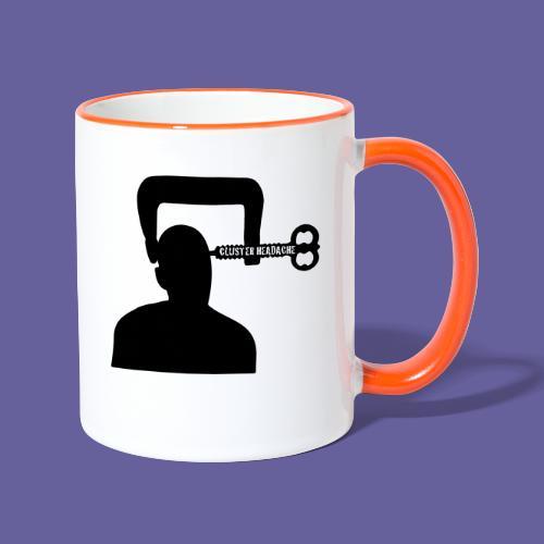 Cluster headache in een bankschroef - Mug contrasté