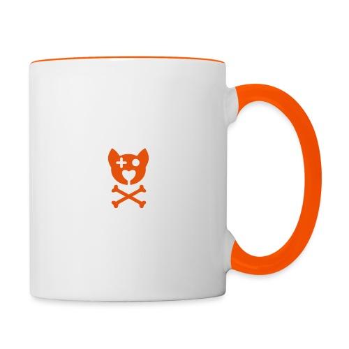 Tête de M ! - Mug contrasté