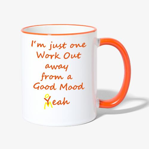 Good Mood Quote design patjila - Contrasting Mug
