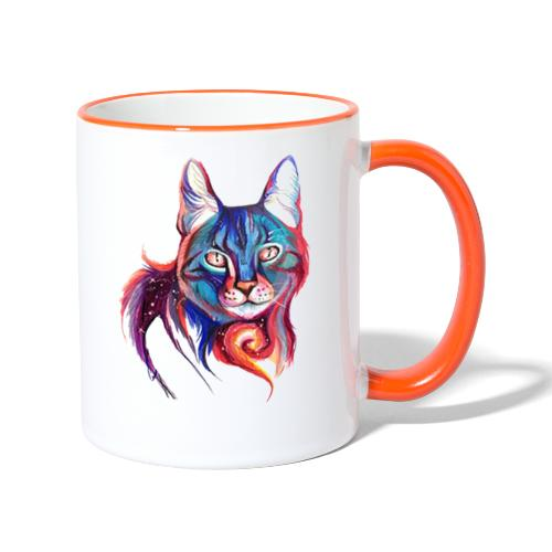 Dulce gatito - Taza en dos colores