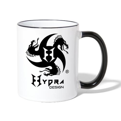 Hydra DESIGN - logo blk - Tazze bicolor