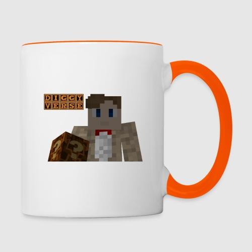 DiggyVerse Mystery - Contrasting Mug