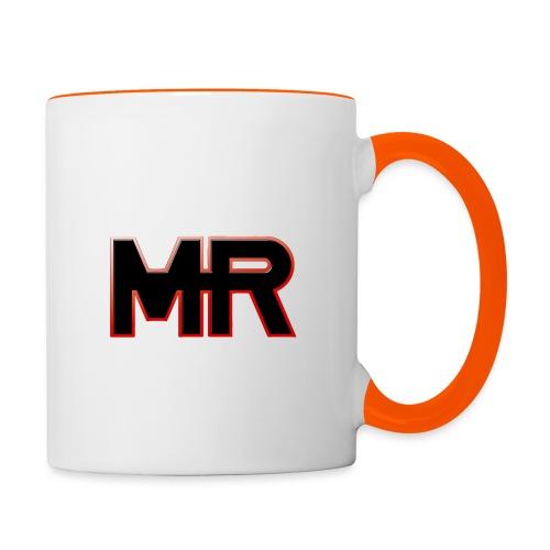 MR logo - Tofarvet krus