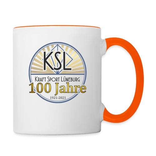 KS Logo 100 J - Tasse zweifarbig