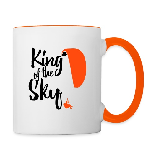 King of the Sky - Tasse zweifarbig