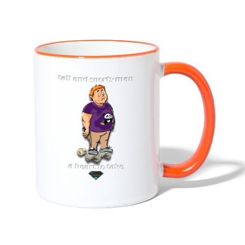 Mutagene sporty man - Mug contrasté